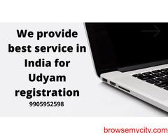 we provide best service in india for udyam registration