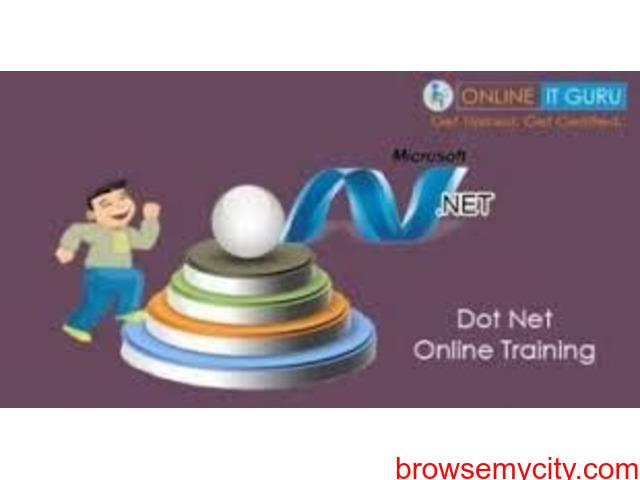 Dot Net Online Training Hyderabad | .Net Online Training - 1/1