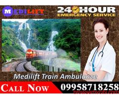 Use Medilift Train Ambulance Facilities in Patna at the Reasonable Budget