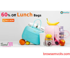 Bandbox Coupons, Deals: 60% Off Lunch Bags