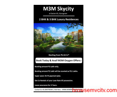 M3M Skycity Sector 65 ,Gurgaon - Live In Style