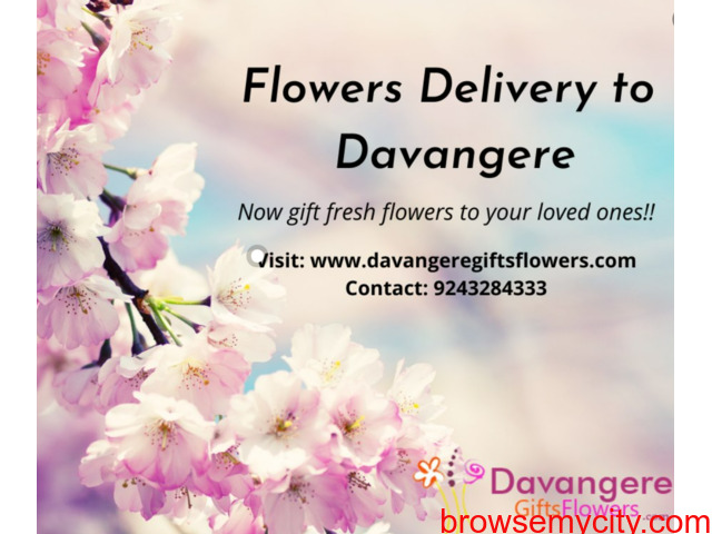 Send Flowers to Davangere – Online flower delivery - 1/1