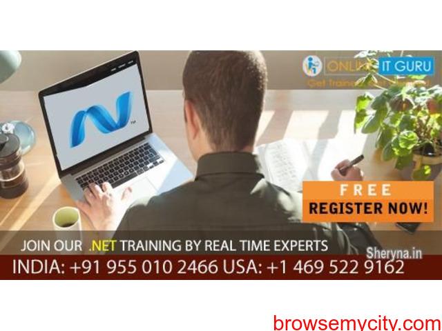 .Net Online Training Hyderabad   Dot Net Training - 1/1