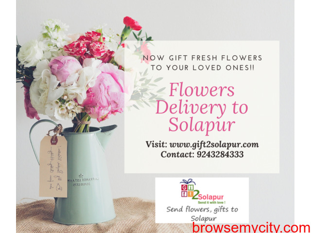Send Flowers to Solapur – Online flower delivery to Solapur - 1/1