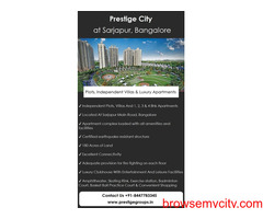 Prestige City Launched New Project By Prestige Group At Bangalore