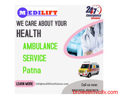 Medical Support Ambulance Service in Patna by Medilift
