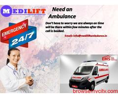 Medical services Ambulance Service in Jamshedpur by Medilift