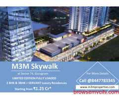 M3M Skywalk Sector 74, Gurugram   Everything Comes in a Choice of Sizes