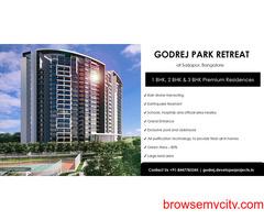 Godrej Park Retreat An Upcoming Project At Sarjapur Road Bangalore