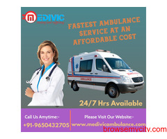 Hire Medical Emergency Service in Bhagalpur, Bihar by Medivic Ambulance