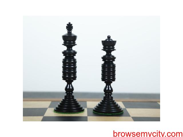 Luxury Staunton Chess Pieces Only Set - 2/4