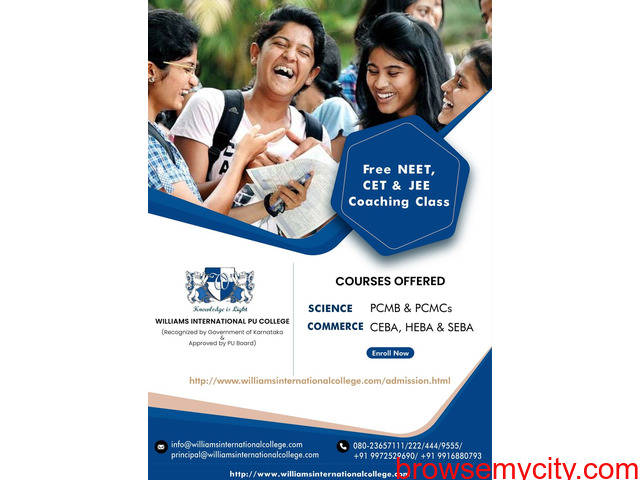 Kick-Start your PUC course with Best PUC college in rt Nagar Bangalore - 1/1