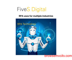 RPA uses for multiple industries