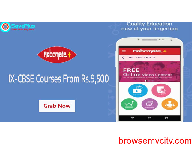 IX-CBSE Courses From Rs.9,500 - 1/1