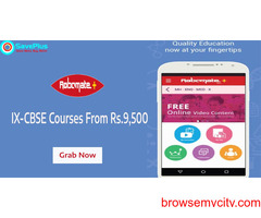 IX-CBSE Courses From Rs.9,500