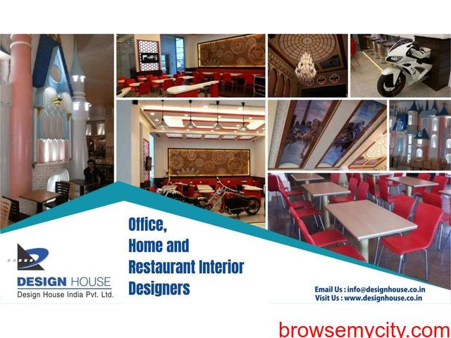 Professional Restaurant Interior Designer Company in Delhi - 1/1