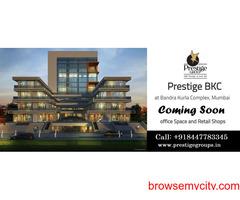 Prestige BKC at Bandra Kurla Complex Mumbai   Office Spaces and Retail Shops For Sale in BKC Mumbai