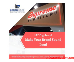 Best LED Signboard Manufacturers in Ghaziabad
