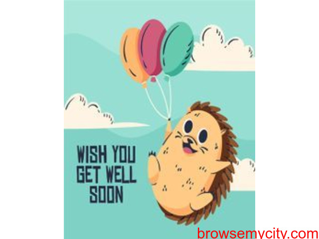 Discover Free Animated Get Well Soon Cards to pray for someone's healthy life - 1/3