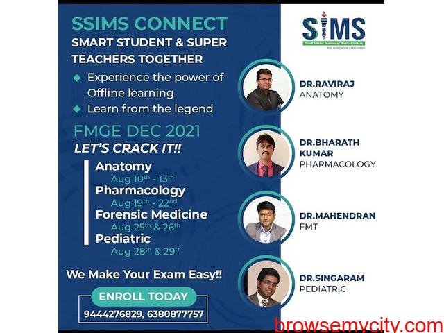 fmge coaching in chennai - 1/1