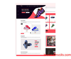 Free Ecommerce Website Template Download
