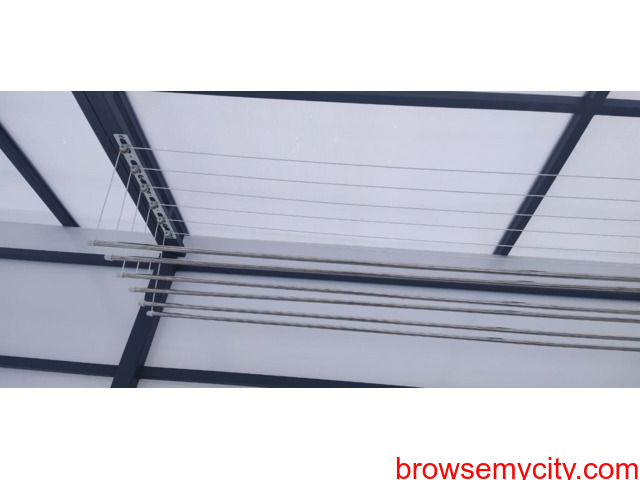 Call 6309850756 For Drying Clothes Hanger in Balcony Near Vasusri Sunrise Apartments, Kompally - 2/6