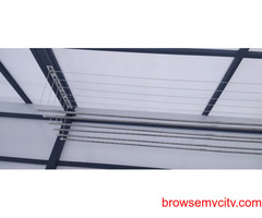 Call 6309850756 For Drying Clothes Hanger in Balcony Near Vasusri Sunrise Apartments, Kompally