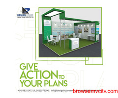 Exhibition Stall Manufacturer and Fabrication Service in Delhi
