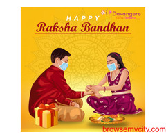 Buy Rakhi Online: DavangereGiftsFlowers, India.