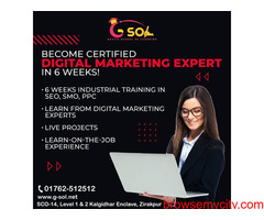 Digital marketing training in Zirakpur