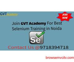 Best Selenium Online Training in Noida- GVT Academy