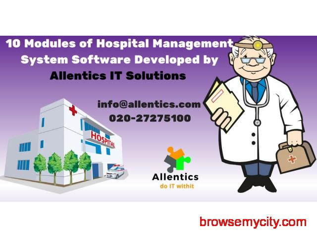 Hospital Management Software in Nagpur, India - 23029