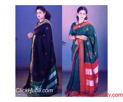 Send hand made kasuti, embroidery sarees to Hubli, Karnataka: Clickhubli