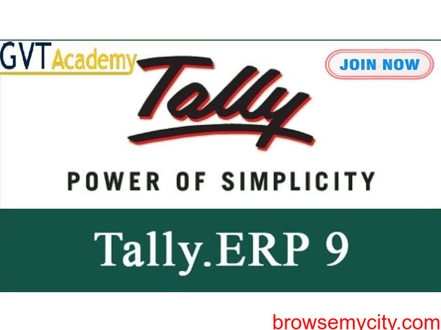 Best Advance Tally Course in Noida-GVT Academy - 1/1