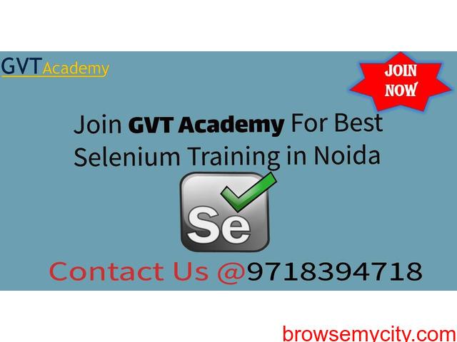 Selenium Training Institute in Noida- GVT Academy - 1/1