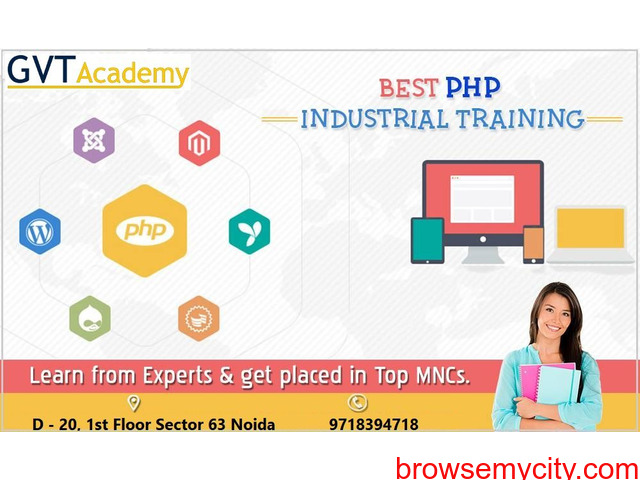 Best PHP Training in Noida- GVT Academy - 1/1