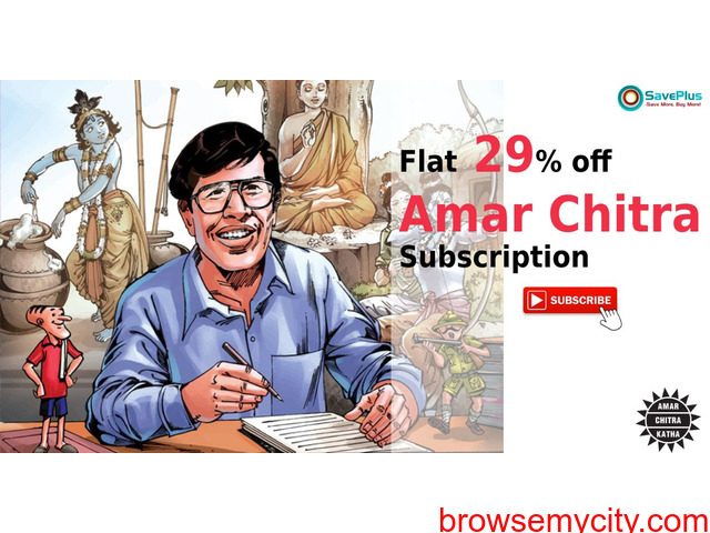 Amar Chitra coupons, offers : Flat 29% off Amar Chitra Subscription - 1/1