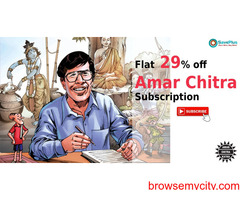 Amar Chitra coupons, offers : Flat 29% off Amar Chitra Subscription