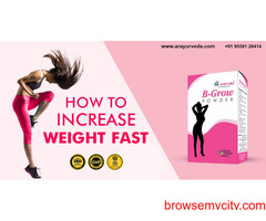 Gain Weight Easily With B-Grow Powder