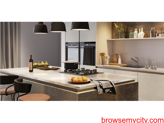 Modulo-Island kitchen design maker in Hubli - 1/1