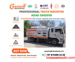 Truck Mounted Sweeper for Heavy Dusty Conditions
