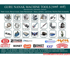 Power Chucks, Dog Chucks, True Chucks, Lathe Machine Chucks, Dealer in Delhi