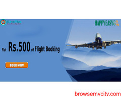 Happyeasygo Coupons, Deals & Offers: Flat Rs.1000 off Flight Bookings