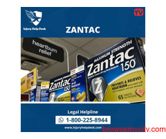 LEGAL ASSISTANCE OFFERED FOR ZANTAC CANCER VICTIMS