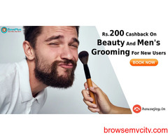 HouseJoy Coupons, Deals: Rs.200 Cashback On Beauty And Men's Grooming For New Users