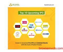 Rudra finance paytm pre IPO service