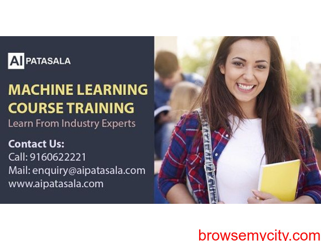 Machine Learning Course in Hyderabad with Placement - 1/1