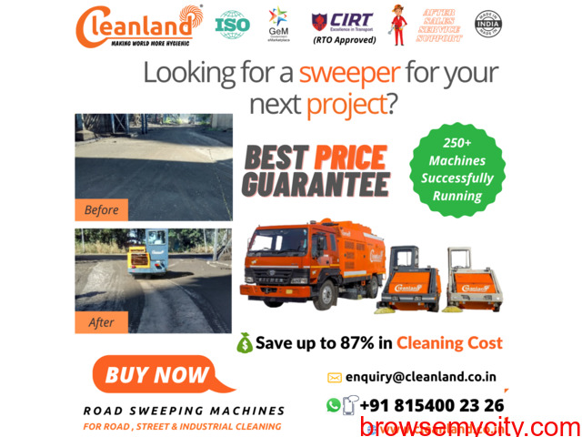 Cleanland Heavy-Duty Road Sweepers - 1/1