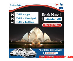 You Can Save on Delhi to Ludhiana Taxi for Oneway & Round Trip