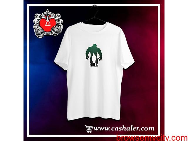 Buy T-Shirts for Men Online in India - Cashaler - 1/1